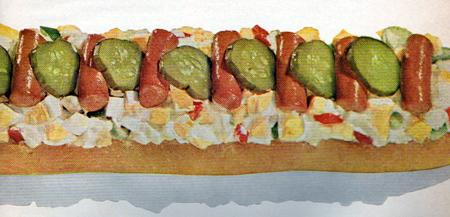 weiner sandwich